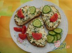Recept Vajíčková pomazánka s medvědím česnekem Avocado Egg, Avocado Toast, Recipies, Eggs, Breakfast, Bar, Drinks, Breads, Recipes