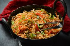 Schezwan Noodles - You call it Schezwan Hakka or Schezwan Chowmein. they both hail from different regions in China but doesn't make any difference to our Indo Chinese style that we . Indo Chinese Recipes, Easy Indian Recipes, Chinese Food, Ethnic Recipes, Chinese Style, Vegetable Recipes, Vegetarian Recipes, Chicken Recipes, Cooking Recipes
