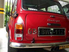 mini cooper clasico 94. restaurado