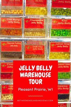 Jelly Belly Warehouse Tour Pleasant Prairie Wisconsin