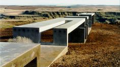 Allied Works Architecture - Maryhill overlook, Above the Columbia River Gorge, Washington State. 1998