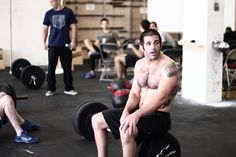 Pat Sherwood.  Not only 1 of my favorite CrossFit athletes, but a fellow sugar addict. Win/Win