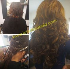 Mais um trabalho fantástico... 300 gramas de cabelo ondulado 60 cms - cor 3 e cor 5 misturadas.  Método aplicação Nó Italiano.  #lojadocabelo #montijo #lisboa #hair #hairextension #extensoes #extensoesdecabelo