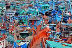 Fishing Village in Phu Quoc, Vietnam By Colin Roohan