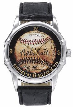 Babe Ruth Signature Baseball Watch