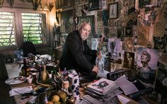 100 famous artists in their studios