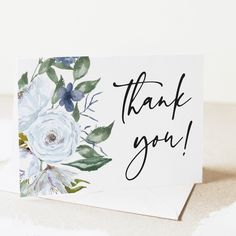 New! Coordinating editable thank you card templates. Edit yourself with Corjl.