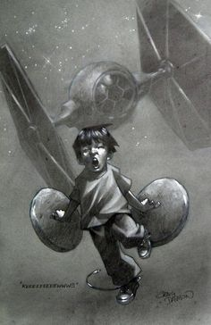 Great art that captures the imagination of a child.. so awesome