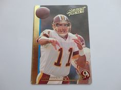 Mark Rypien Action Packed Football Card.