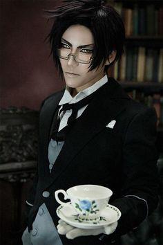 Cosplay: Claude Faustus (Black Butler II) Coser: 朔夜 Sakuya