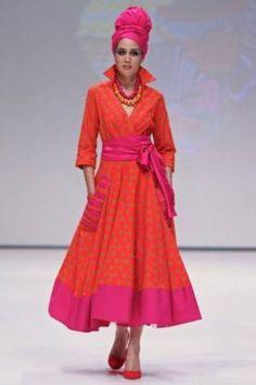 High collar ,crossover dress - Diva designs by brenda - Custom made South African Fashion, African Fashion Designers, African Print Fashion, Seshweshwe Dresses, African Maxi Dresses, African Clothes, Wedding Dresses, Elegant Summer Dresses, Beautiful Dresses For Women