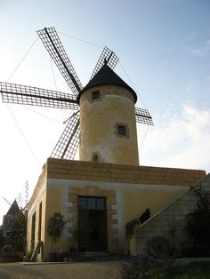 Spain mill, from International Mill Museum, Gifhorn, Germany