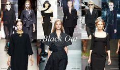 Black Out  #Spring2014 #Fashion #Trends #VZNYC