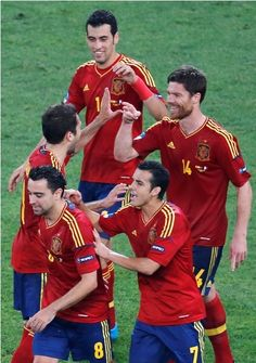 Euro Cup 2012 Spain Vs. France