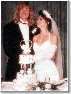 """Music producer Robert John """"Mutt"""" Lange (17 years her senior) was married to Canadian singer/songwriter Shania Twain 1993 until 2010. He had an affair with Twain's best friend, Marie-Anne Thiébaud. In 2011 Twain married Marie-Anne's Swiss ex-husband, Frédéric Thiébaud, an executive at Nestlé. Poetic justice indeed!"""