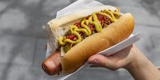 Get Paid to Go to MLB Baseball Games and Eat Hot Dogs | Southern Living Cream Of Tartar Uses, Stabilized Whipped Cream, New York Journal, Boiled Vegetables, Mlb Stadiums, The Chew, Baseball Games, Dog Eating