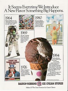 Baskin-Robbins 31 Flavors Ice Cream 1984 Olympics ad