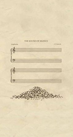"""Simon & Garfunkel - The Sound Of Silence Lyrics   #MetroLyrics: Hello darkness, my old friend I've come to talk with you again Ten thousand people, maybe more People talking without speaking People hearing without listening People writing songs that voices Never shared and no one dared Disturb the sound of silence But my words, like silent raindrops fell And echoed in the wells of silence On the subway walls and tenement halls And whispered in the sounds of silence""""  #SoundsofSilence"""
