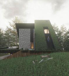 Villa, Plants, House, Design, Home, Plant, Fork, Villas
