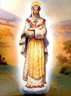 "Our Lady of La Salette, France - Feast Day: September - Latin Calendar …we looked for a long time.but the Beautiful Lady had disappeared perhaps it was a great Saint"" remarked Melanie. Blessed Mother Mary, Blessed Virgin Mary, Religious Images, Religious Art, La Salette, Our Lady Of Sorrows, Images Of Mary, Queen Of Heaven, Mama Mary"