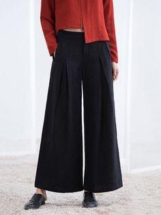 Streetstyle Casual Summer Wide Leg Pants - StyleWe.com
