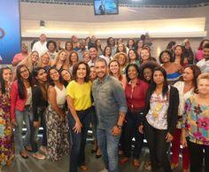 Fofocas de Beleza: Programa Encontro com Fátima Bernardes com Diogo N...