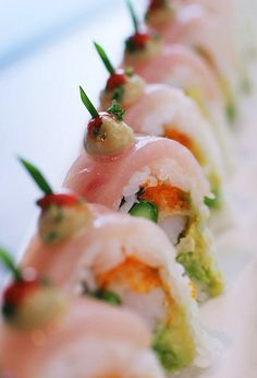 I could eat Sushi all day!!!