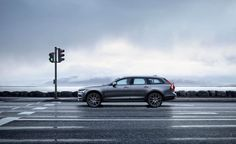 View 2017 Volvo V90 Cross Country: A Familiar Formula Applied to a Beautiful Wagon Photos from Car and Driver. Find high-resolution car images in our photo-gallery archive.