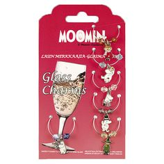 Mark your own wine glass with these fun Moomin Glass charms! Moomin Shop, Moomin Valley, Spark Up, Wine Glass, Charms, Fun, Accessories, Hilarious, Jewelry Accessories