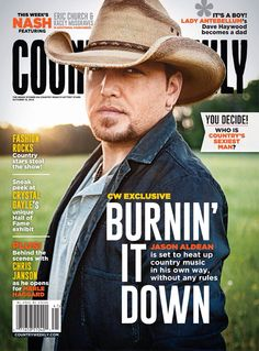 Jason Aldean on the cover of Country Weekly!Out now...