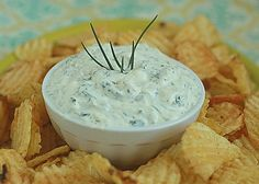Garlicky Greek Yogurt Ranch Dip