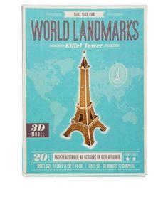 Make Your Own Landmark Eiffel Tower