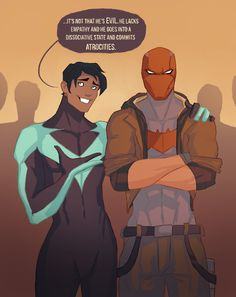 Dick Grayson comments Jason Todd standing just next to him terrific Jason Todd Batman, Red Hood Jason Todd, Young Justice, Batman Robin, Im Batman, Batman Stuff, Making Excuses, Robins, Nightwing