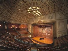 Jordan Hall at the New England Conservatory