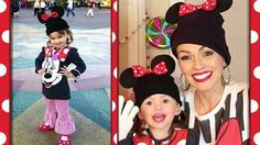 DIY Minnie Mouse ears. Kandee and her little helper make adorable accessories in a Disney Exclusive project.
