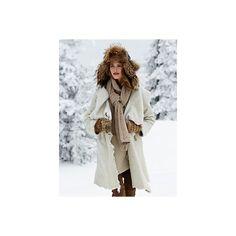 anastasia coat (€4.185) ❤ liked on Polyvore featuring outerwear, coats, modeli, wool cashmere coat, cashmere coats and ski coats