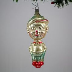 Smitty Figural Christmas Ornament