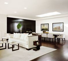 Modern Dining Room by Jennifer Post in New York City