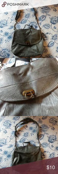Mossimo Feux Leather Satchel Bag Sleek feux leather satchel bag from Mossimo. Good condition! Slight wear on metal detail. Mossimo Supply Co. Bags Satchels