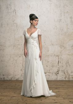 Wedding dress for older bride over 40,50,60