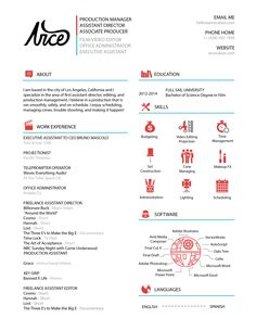 20 Beautiful & Free Resume Templates for Designers | Self ...
