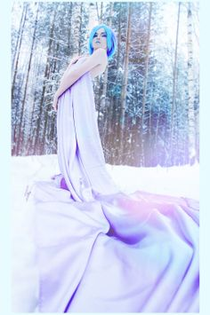Lady of ice [3] by AliceYuric.deviantart.com on @deviantART