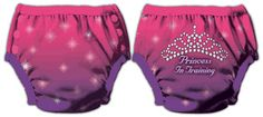 FuzziBunz Trickle Free Training Pants Wouldn't mind getting a few of these for when Emily starts potty training.  They are so cute. @DiaperShops