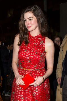 Anne Hathaway  #AnneHathaway Colossal Premiere After-Party in NYC 28/03/2017 Celebstills Anne Hathaway