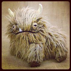 Custom Order Alot Monster by Beedot on Etsy