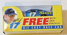 Nascar #17 Matt Kenseth Aleve Adult Collectable Die cast race car Team Caliber #TeamCaliber #17