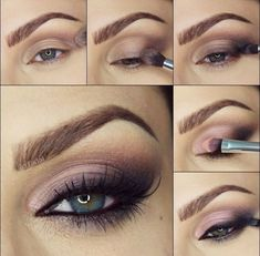Step by step tutorial for this sexy cat eye look by @rfadai