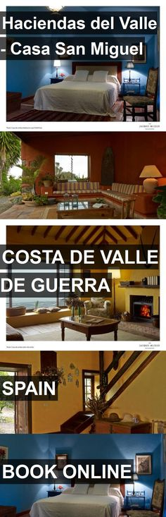 Hotel Haciendas del Valle - Casa San Miguel in Costa de Valle de Guerra, Spain. For more information, photos, reviews and best prices please follow the link. #Spain #CostadeValledeGuerra #travel #vacation #hotel