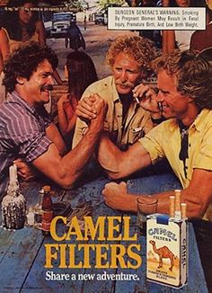 Advertising 1978 Camel Cigarettes Ad Woman Man Motorcycle Always Buy Good