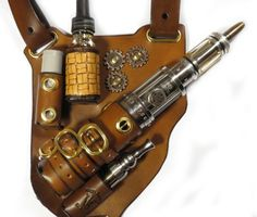 134 Leather Shoulder Holster - http://steamp.co/d/1641